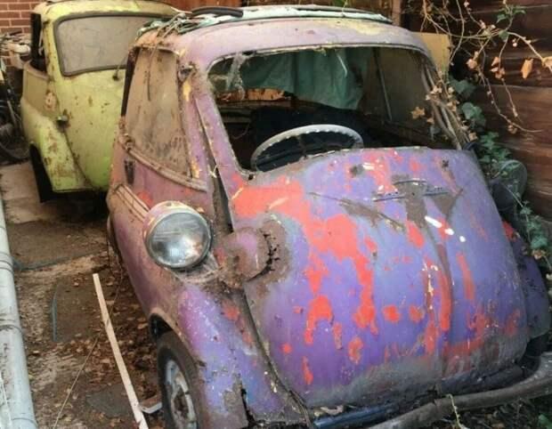 BMWIsetta: заброшенный гараж коллекционера