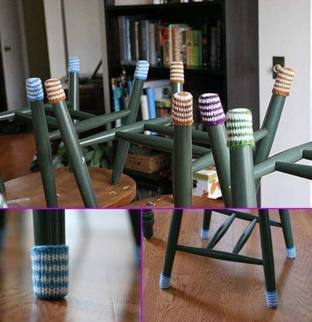 Тапки... для стульев (идеи)