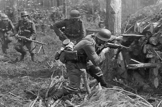 Немцы все ходы записывали