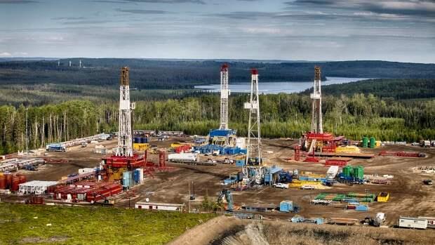 Montney сланцы Канада газ