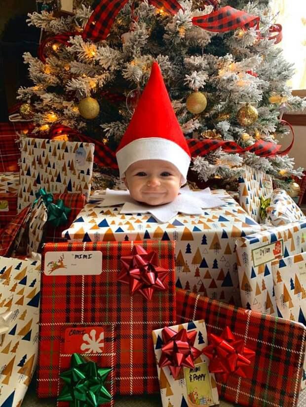 Фотосессия новогоднего эльфа (подборка)