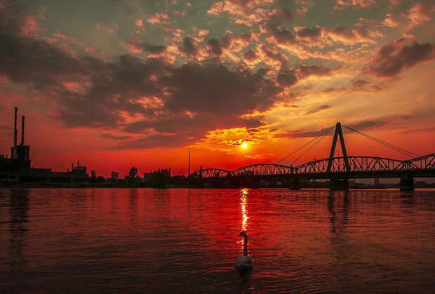 Рассветы и закаты в фотографиях