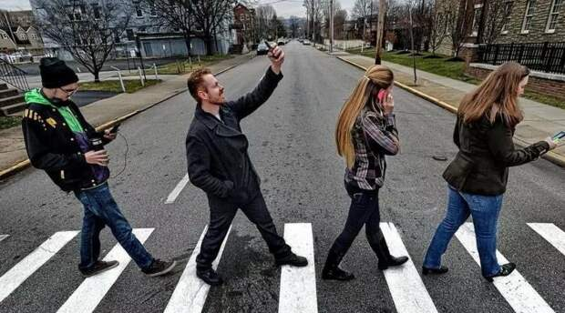 Пешеходы, вы себя бессмертными почувствовали?!