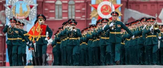 Парад Победы на Красной площади. Прямая трансляция