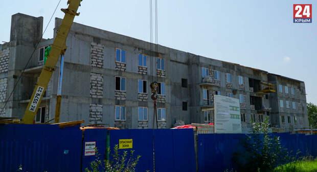 К новому году в Керчи построят 48-квартирный дом