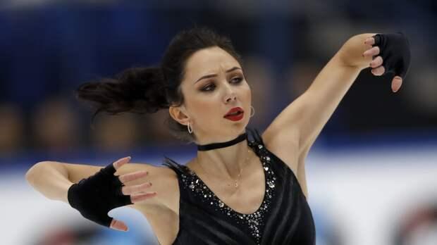 Туктамышева прокомментировала второе место в короткой программе на командном ЧМ