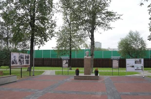 Сквер имени Хлобыстова благоустроили и озеленили