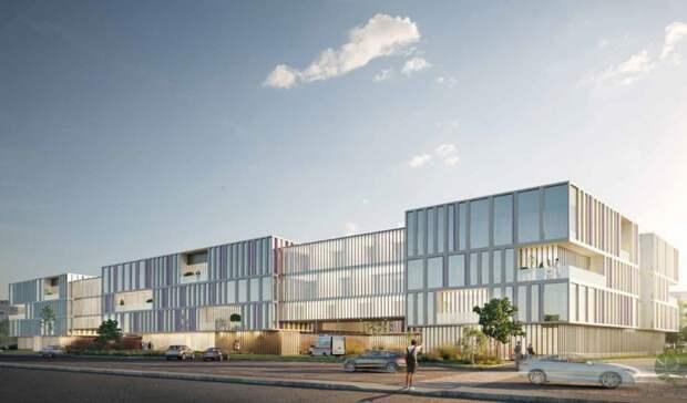 ВБелгороде представили концепцию нового корпуса детской областной больницы