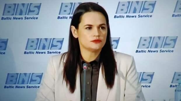 Тихановская: Путин играет с Лукашенко