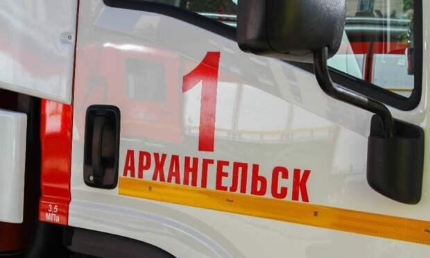 ВАрхангельске произошёл пожар в12-этажном жилом доме наВоскресенской улице