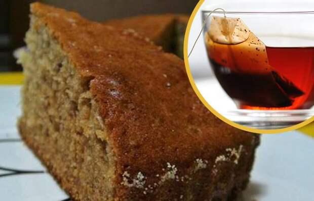 Рецепт домашнего пирога к чаю.