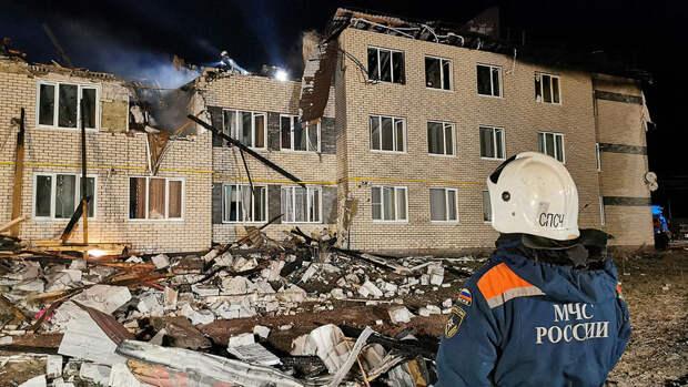 Глава региона назвал возможную причину взрыва газа под Нижним Новгородом