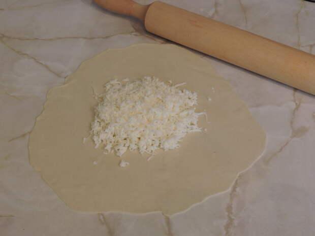 В середину выложить сыр еда, своими руками, сделай сам
