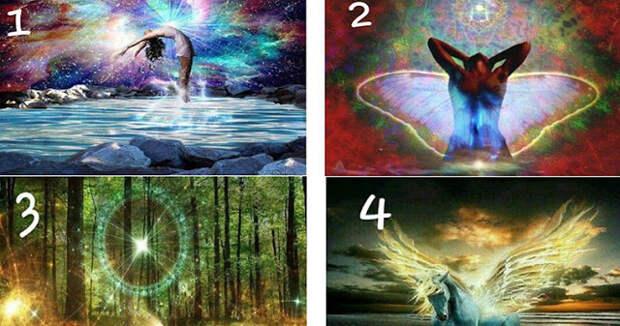 Выберите изображение и получите послание от Вселенной