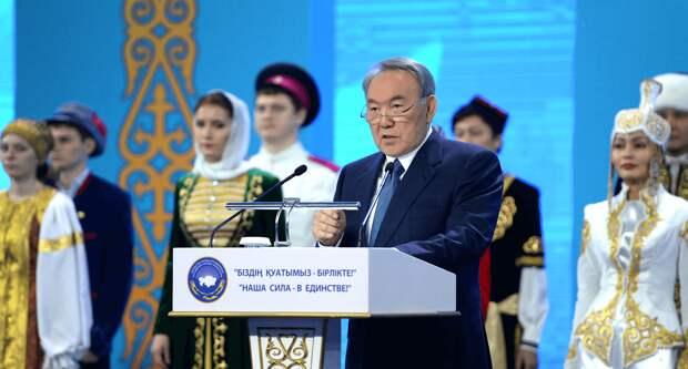 Назарбаеву готовятся дать право пожизненно возглавлять Ассамблею народа Казахстана