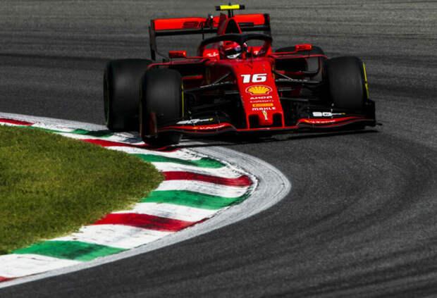 «Моя квартира слишком мала». Леклер рассказал, почему передал машину Ferrari принцу Монако