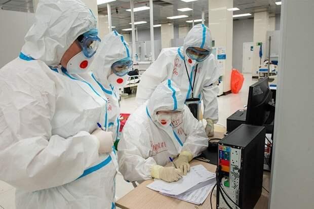 В России выявили 8 183 новых случая коронавируса