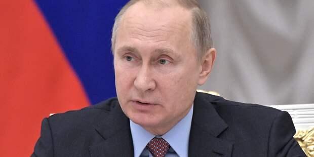 Песков о планах Путина