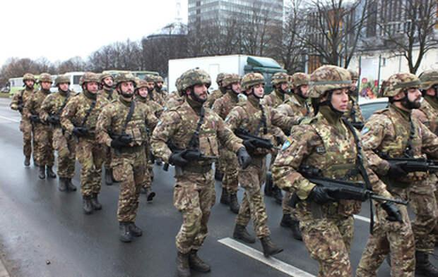 В Эстонии пьяные солдаты НАТО устроили дебош