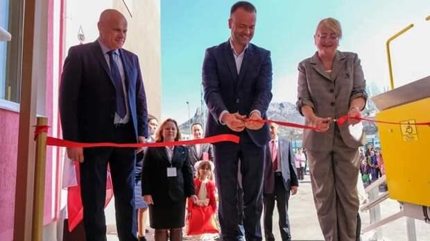 В Судаке открыли детский сад на 110 мест