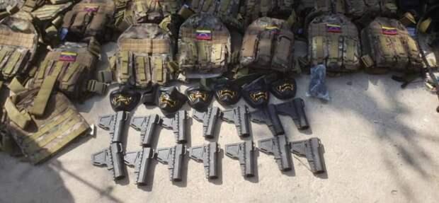 Массовый отлов вооруженных наемников на венесуэльских пляжах в разгаре