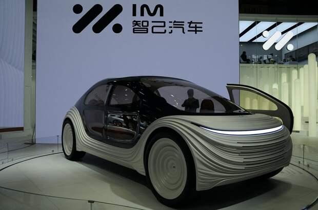 В Китае представили огромный электрокар IM Airo с технологией очистки воздуха