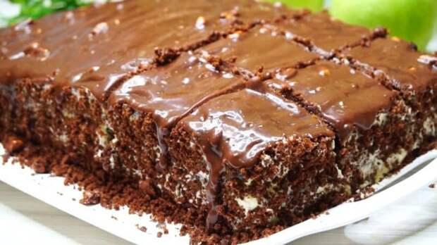 Домашний торт без пропитки. Простой рецепт лакомства со сливочным кремом 2