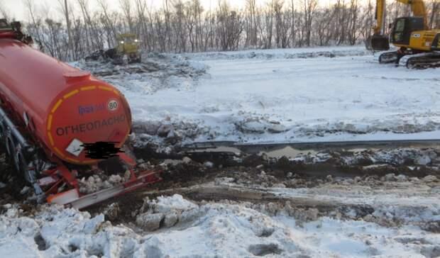 ООО «Импория Транссервис» наказали штрафом за разлив нефти в Ташлинском районе