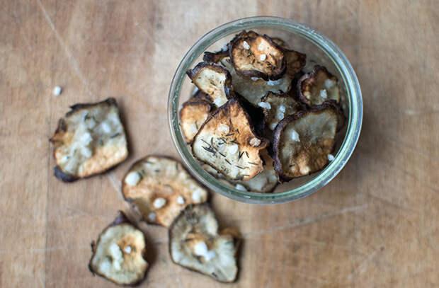 Овощные чипсы: королевская закуска из духовки