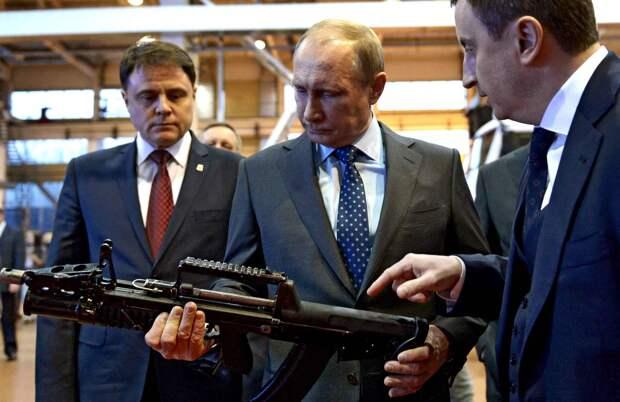 Владимир Путин рассказал о российском курсе на «оружие будущего»