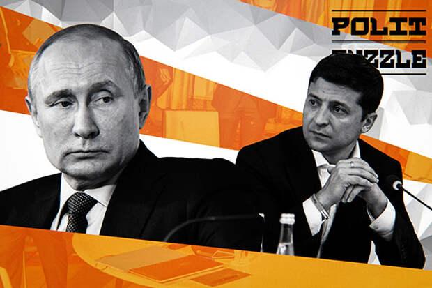 Украинские СМИ расшифровали сигнал, посланный Путиным в адрес Зеленского