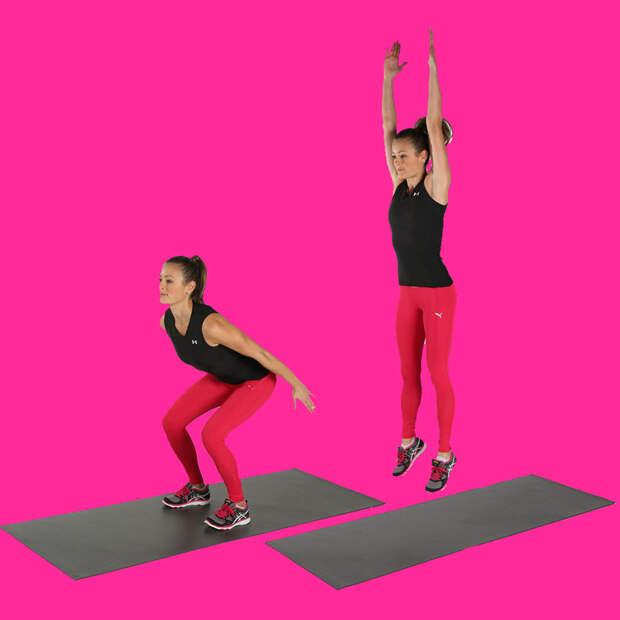 2 шикарных упражнения для женщин, которые приведут в форму проблемные зоны