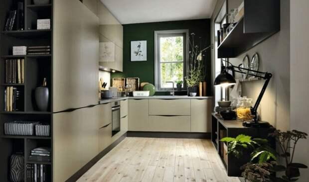 Кухонная мебель для деревянного дома какую выбрать