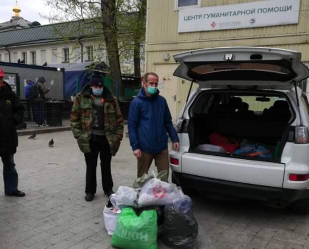 Волонтеры из Куркина оказали помощь «Ангару спасения»
