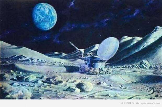 "Тайная сторона миссии ""Лунохода-1""."