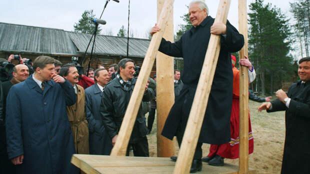 Это вам за 90-е: Президентом в США станет Ельцин. И это не шутка