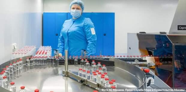 Московский эндокринный завод освоил выпуск ряда лекарств от COVID-19