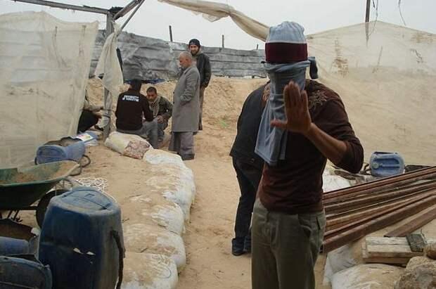 Жители сектора Газа празднуют «победу» в противостоянии с армией Израиля