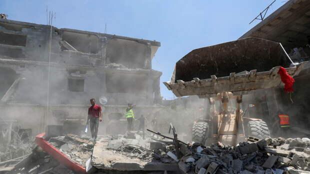 Число погибших от обстрелов Израиля в секторе Газа превысило 180