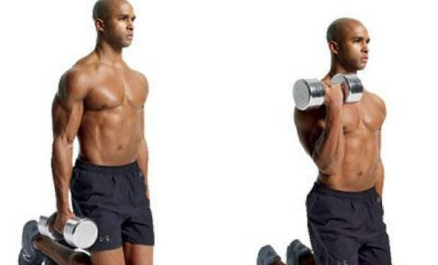 Качаем руки, но опускаемся на пол: мускулы растут вдвое быстрее