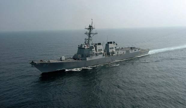 В России заявили о готовности ударить по цели после прохода британского эсминца