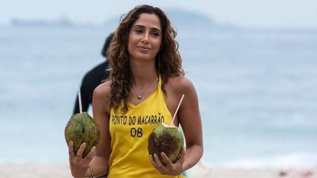 Бразильская актриса и модель Камила Питанга