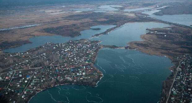 Россия передала Казахстану озеро в Новосибирской области