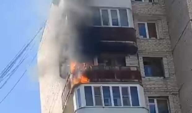МЧС сообщило подробности пожара в многоэтажке в Ставрополе