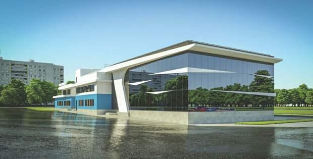 Спортивный комплекс в виде несущегося по волнам катера построят в Бибиреве