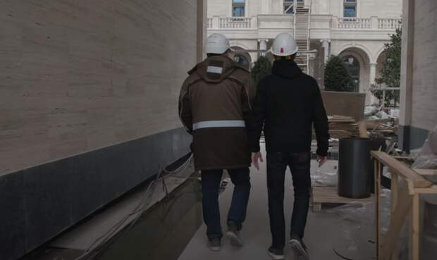 Появилось видео изнутри «дворца Путина» в Геленджике