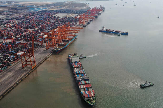 COVID в крупнейшем порту КНР вызовет транспортный коллапс