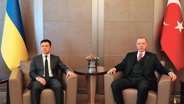 Москву раздражает турецко-украинское танго