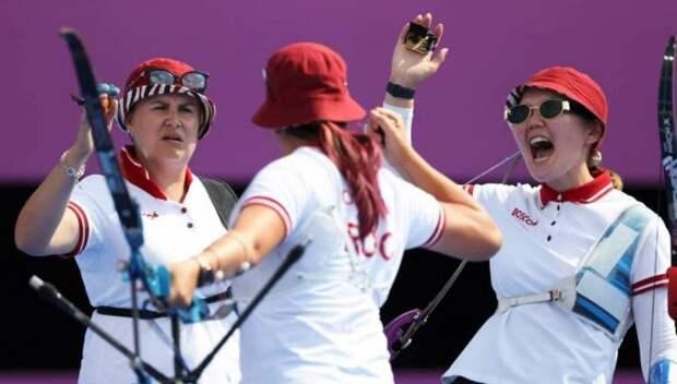 Российские лучницы стали вторыми в командном турнире на Олимпиаде в Токио