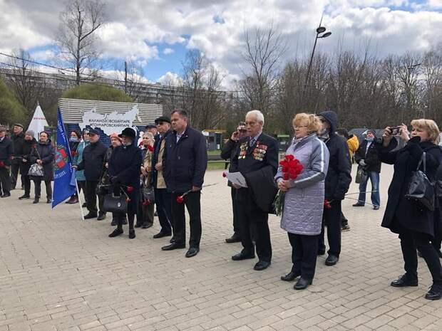 В Лианозове почтили память жертв Чернобыльской катастрофы